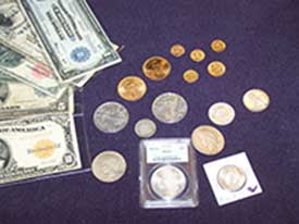 Coin Collection buyer